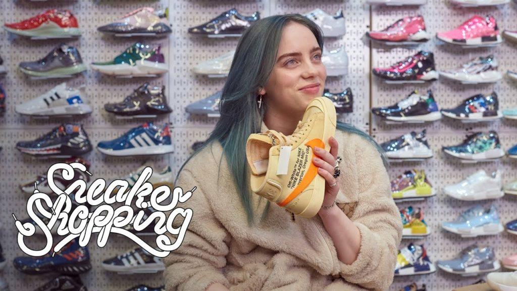Billie-Eilish-shopping